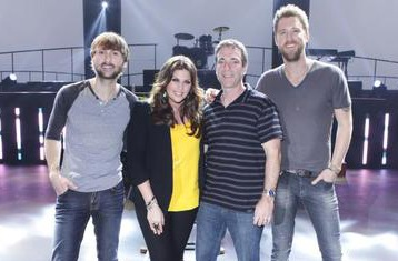 Lady Antebellum and Paul Jankowski