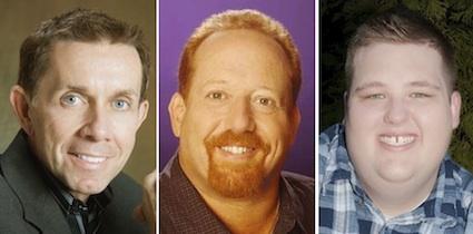 (L-R) Joe Galante, Neal Spielberg, Tim Gerst