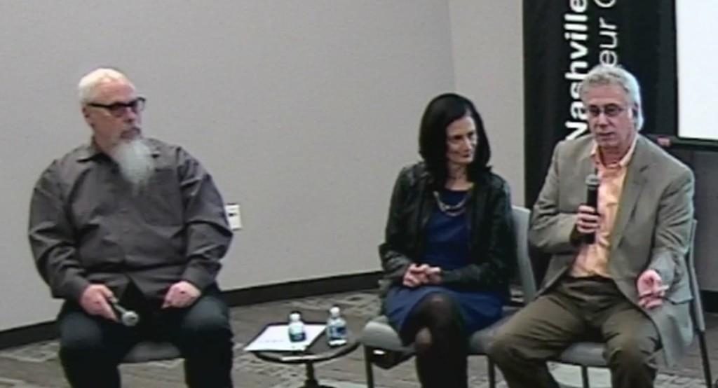 (L-R) John Marks, Leslie Fram and Charlie Cook.